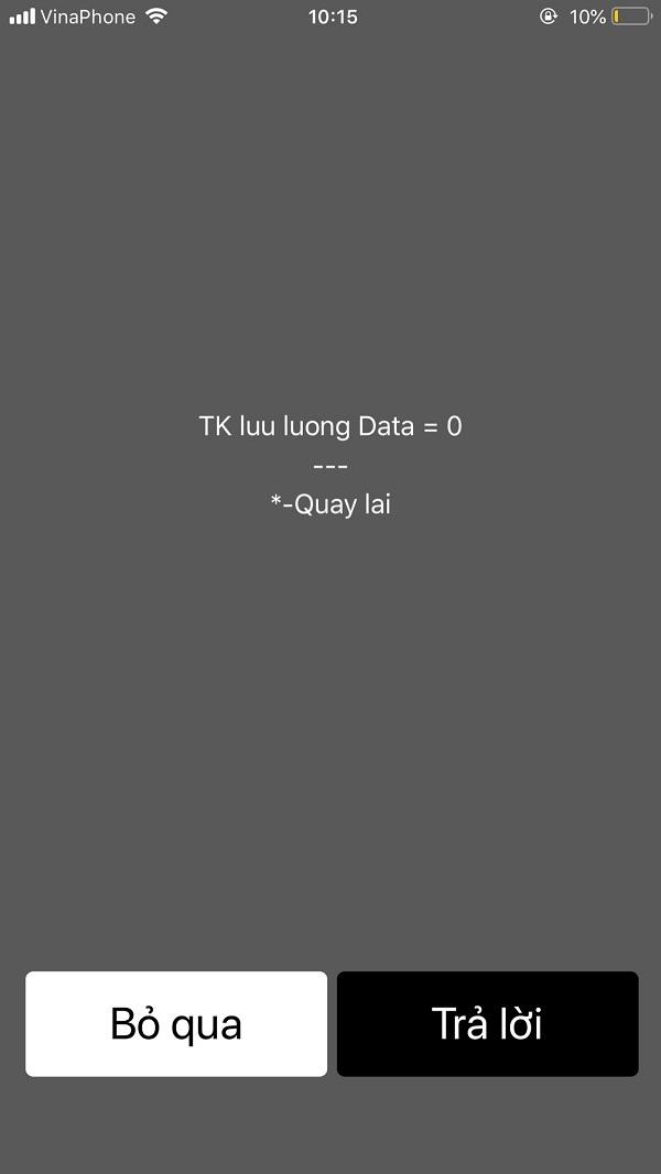 kiểm tra tài khoản vinaphone 3