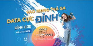 Gói Đỉnh 60G Vinaphone