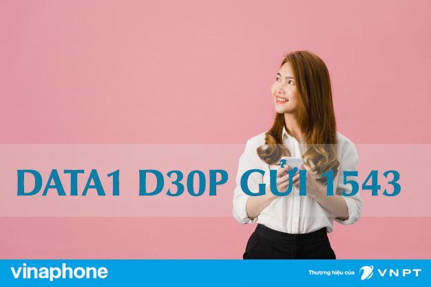 Cú pháp đăng ký gói cước D30P Vinaphone