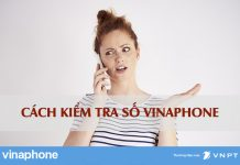 Kiểm tra số Vinaphone đang sử dụng
